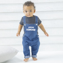 Junior Fancier Denim dungarees