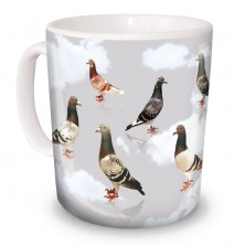 Pigeon Colours Mug