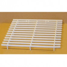Plastic perch grill 9 1/2 x 10""