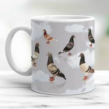 Pigeon Colours Mug