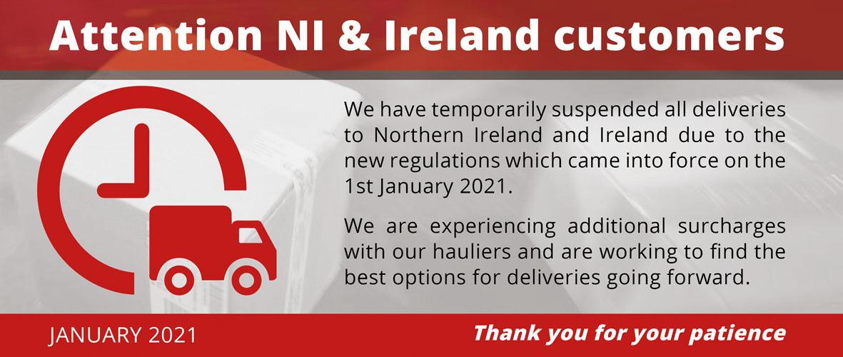 NI Ireland delivery